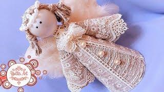 видео Ангелочки на Рождество своими руками из разных материалов