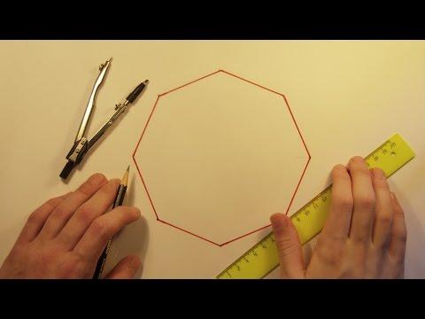 Как нарисовать правильный многоугольник