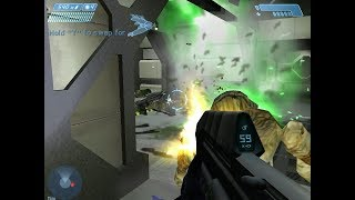 Halo 1 PC Gameplay - Level 10: The Maw