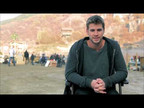 'The Expendables 2' - Liam Hemsworth (Soundbite)