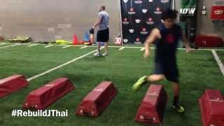 Jason Thai's unhappy triad (ACL, MCL, meniscus) rehab at Fischer Sports #RebuildJThai thumbnail