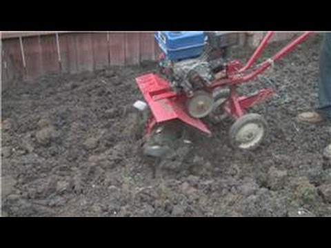 Lawn And Yard Help How To Rototill A