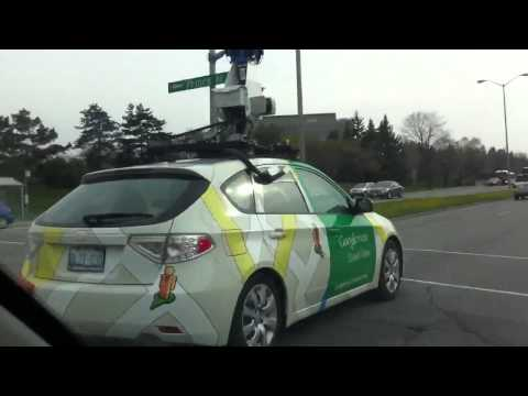 Google Street View Car In Ottawa