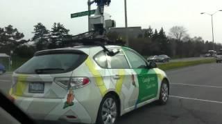Gambar cover Google Street View Car In Ottawa