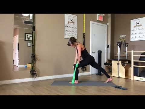 Pilates Resistance Band Athletic Flow with Trainer Fiona