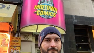 Toy Hunting at Midtown Comics and Nintendo Store NYC