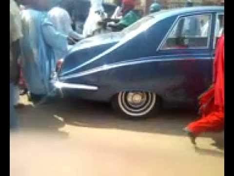 Scene of the Attack on Emir of Kano
