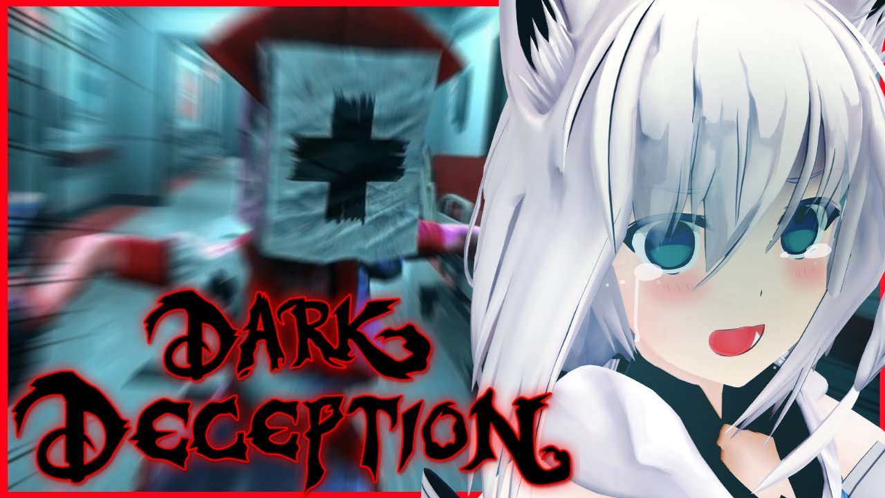 [Dark Deception]I can only sleep at night after being chased by a sexy nurse.[Holo Live / Shirakami Fubuki]