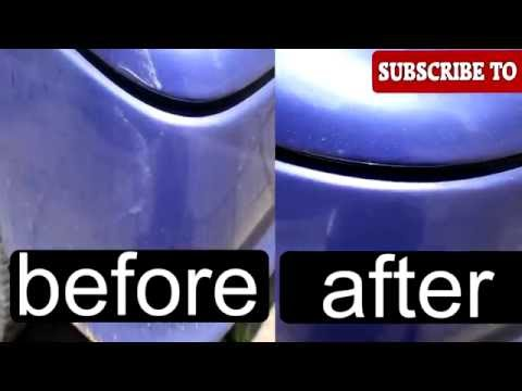 Easy Fix Car Scratches With Wd 40 Tutorial Scratch Repair
