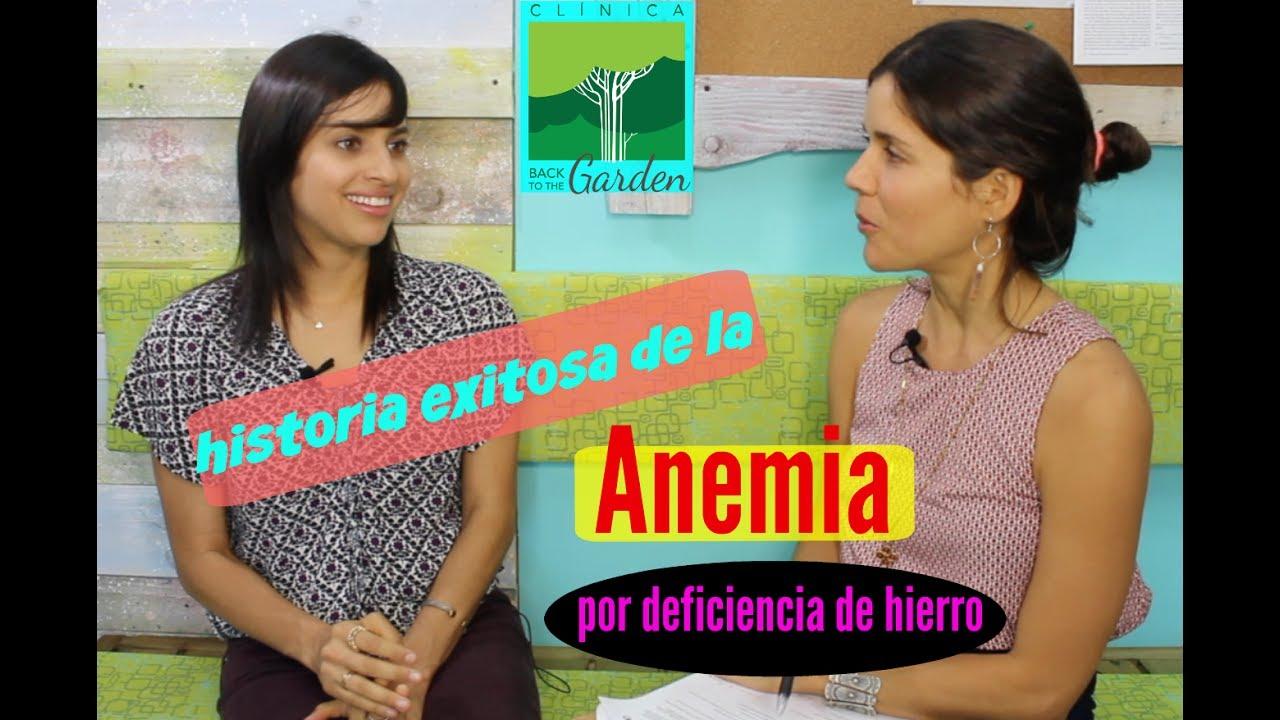 Historia Exitosa de Anemia por deficiencia de hierro