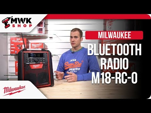 MWK Shop - Milwaukee Radio M18-RC mit Bluetooth