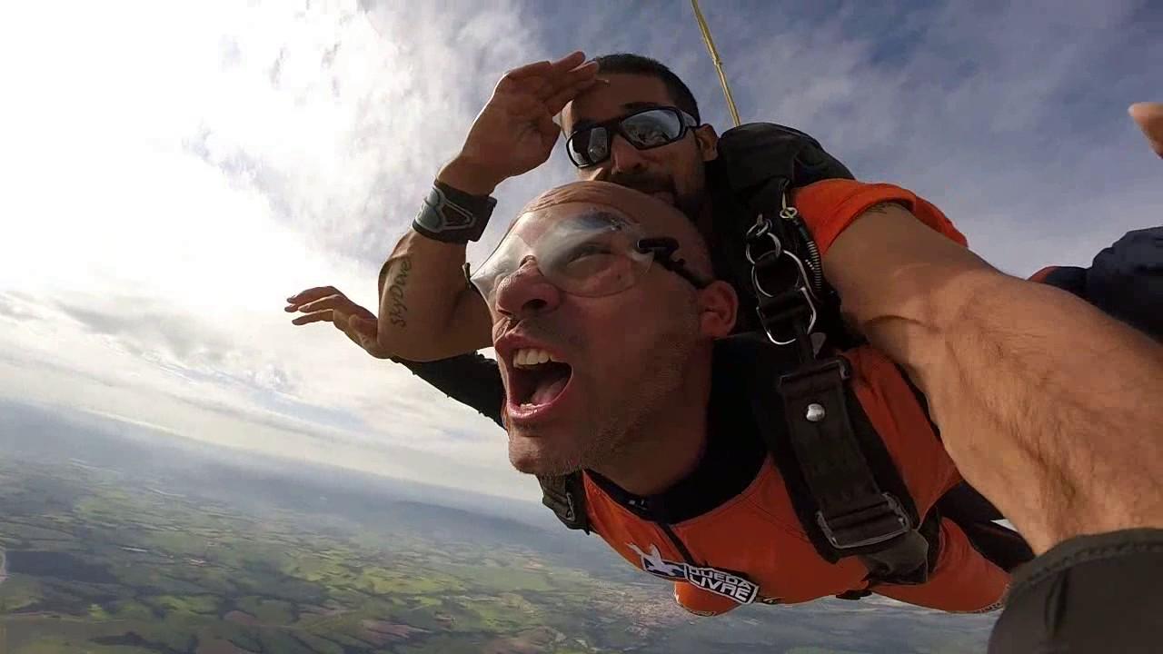 Salto de Paraquedas do Igor M na Queda Livre Paraquedismo 29 01 2017