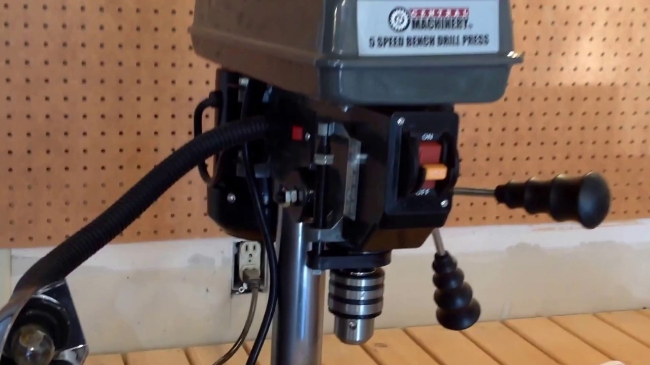 Central Machinery 8 Inch Bench Drill Press Unboxing
