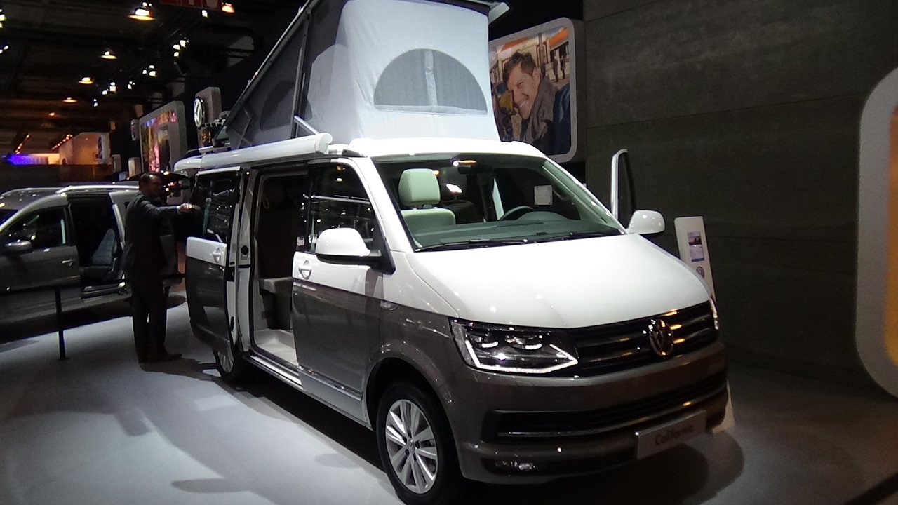 2017 volkswagen california ocean exterior and interior. Black Bedroom Furniture Sets. Home Design Ideas