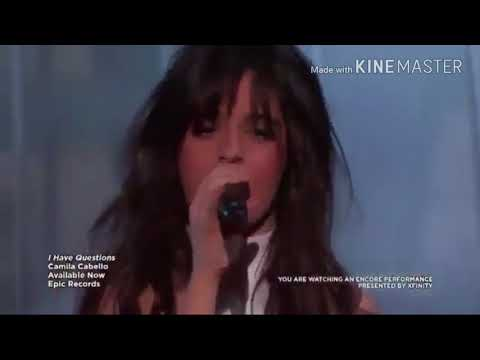 Camila Cabello - Karla Estrabao 😊(Full Mix Live Perfomance) I have question