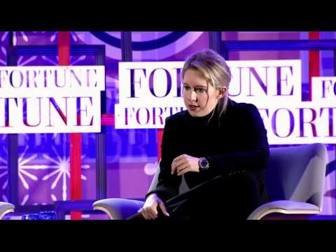 A Conversation with Elizabeth Holmes at MPW Next Gen | Fortune
