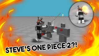 [Roblox] Steve's One Piece 2 ?! | New game by owner of SOP