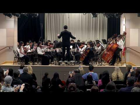 Plaza Vista Middle School Spring Concert March 10, 2020