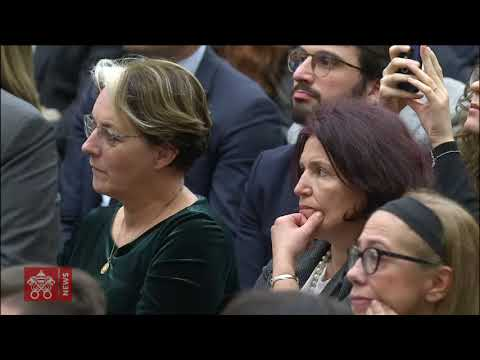 Pope Francis-Audience with Professors and Students of LUMSA 2019-11-14