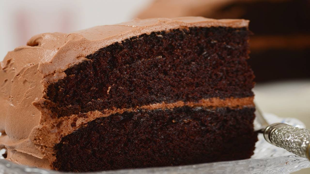 Simple Chocolate Cake Recipe Demonstration Joyofbaking