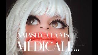 Natasha à la visite médicale... #natashahotesseen