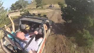 Демерджи Алушта(Джип - Сафари в Крыму +380509202921 Долина привидений Непродолжительный маршрут к подножию горы