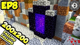 Falling Falling Nether Time | Minecraft Let's Play Ep. 8 (Custom Map)