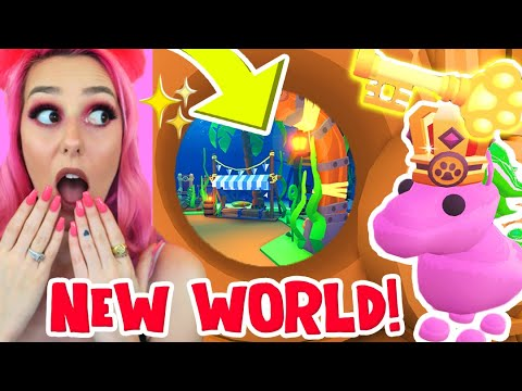 *NEW* UNDERWATER WORLD In Adopt Me!! *KEY LOCATIONS* NEW OCEAN Pets + ACCESSORIES!