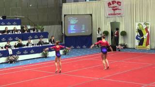 Video ACRO KT Aalst A-Beloften: BK 2014: Kaat De Brabanter en Charlotte Bertrem (Tempo) download MP3, 3GP, MP4, WEBM, AVI, FLV Desember 2017