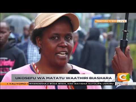 matatu zarejea jijini Nairobi