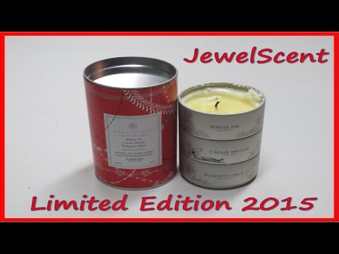 JewelScent Holiday Tin Limited Edition - 3 Rings Revealed!