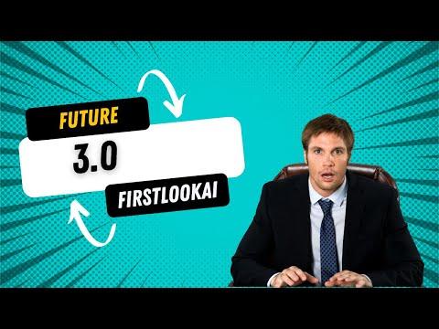 FUTURE 3.0 Launch Trailer : SUPER-INTELLIGENCE (FIRSTLOOKAI)