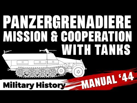 Panzergrenadiere 1944:  Mission & Cooperation with Tanks #FromTheArchives