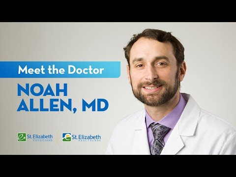 Meet Dr. Noah Allen – Urologist At St. Elizabeth