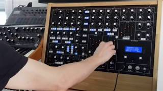 SYNTHR3 specifications part 7 : ANALOGIC LFO(s)