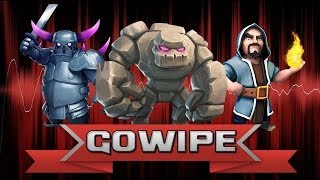 Clash of clans -triple threat attack strategy
