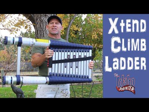 XTEND CLIMB LADDER.  Compact 20' Extending Ladder.  Best Ladder Ever.