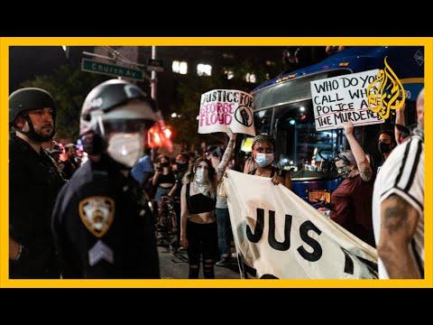 🇺🇸 تواصل المظاهرات في نيويورك لليوم الرابع
