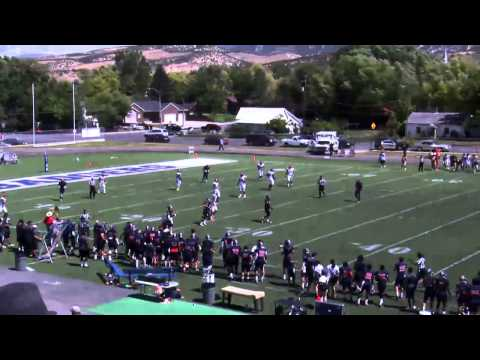 Snow College Football Vs. Arizona Western College 2014