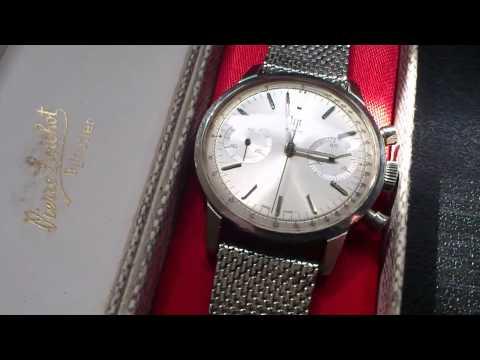 Montre chrono Lip Genève vintage