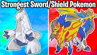 TOP 20 STRONGEST SWORD AND SHIELD POKEMON! (Best Gen 8 Pokemon For Teams By Stats)