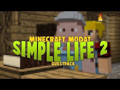 SimpleLife 2 - ep2 - PUNEM TEMELIILE ORASULUI | Minecraft Modat