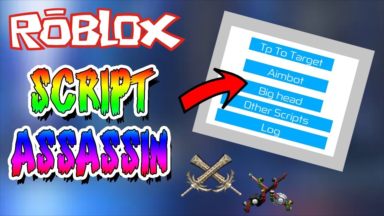 Roblox Assassin Aimbot And Bighead Script Youtube
