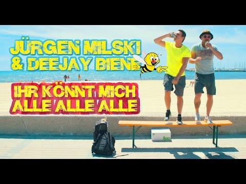 Jürgen Milski & Deejay Biene - Ihr könnt mich alle alle alle (offizielles Video)