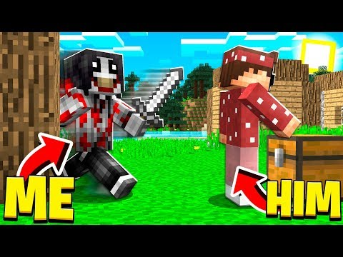 PRANKING My BEST FRIEND As JEFF THE KILLER In Minecraft! (Minecraft Trolling)