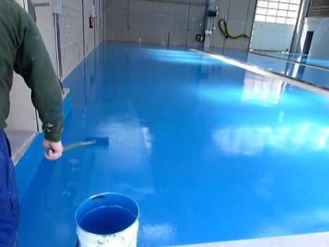 pintura pavimento polimet  YouTube