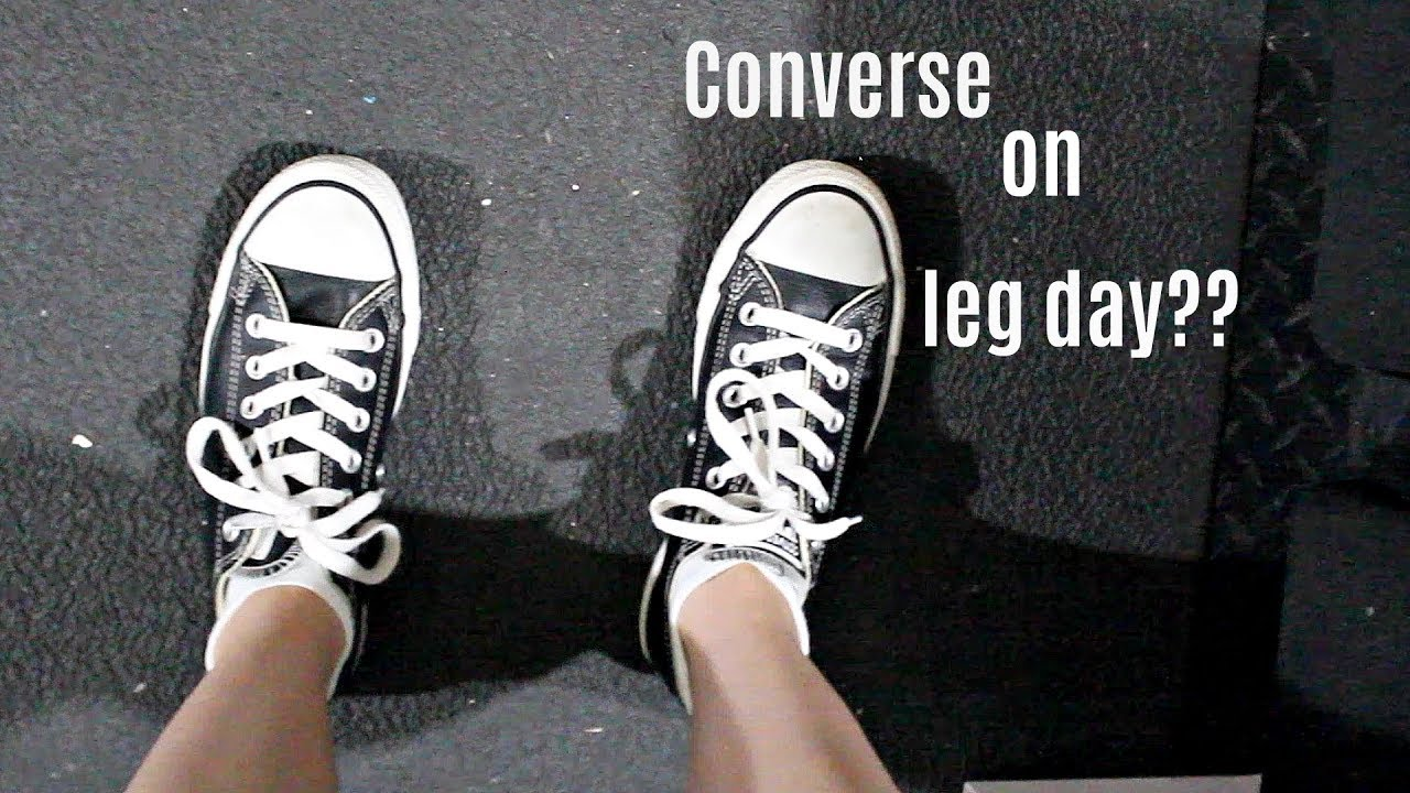 54d3194ca5a84 Wearing Converse on Leg Day