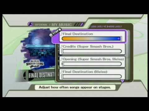 [Brawl Hacks] Replace Music with SD Card - File Patch Code 3.5.1