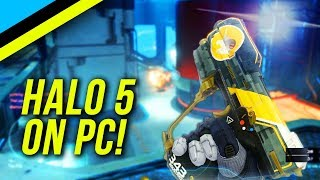 HALO 5 On PC Is Pretty Awesome - Max Settings PC Halo First Impressions