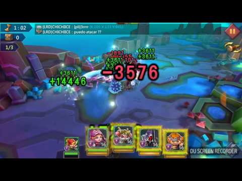 Lords Mobile Elite 6-15 Fp2 With Level 56 Heroes!!!!